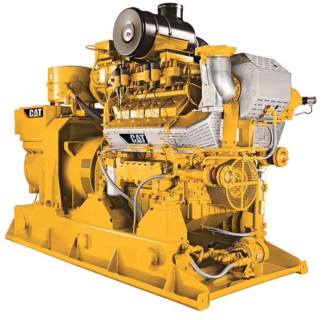 Caterpillar Cogeneration takes waste heat and uses it productively. Photo courtesy of Caterpillar