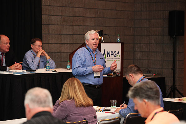 Image, showing Kirk Wright of Pro Image Communications, courtesy of NPGA.