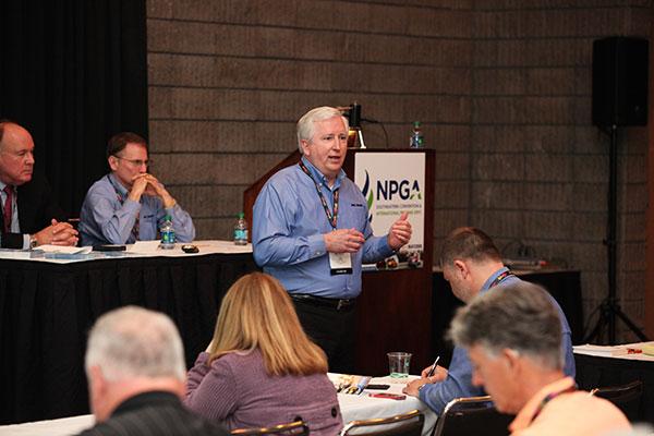 Image, showing Kirk Wright of Pro Image Communications, courtesy of NPGA.