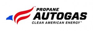 Propane Autogas Clean American Energy logo from the Propane Education & Research Council (PERC) to label autogas