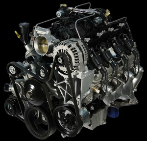 Powertrain Integration's 6.0-liter LC8 propane autogas engine.