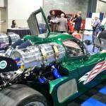 custom-built car runs on propane. Photo: LP Gas staff