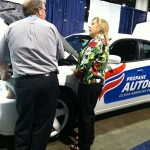 Propane-fueled Dodge Charger at Propane Expo 2015. Photo: LP Gas staff