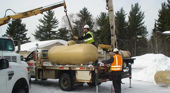 Como Oil and Propane Photo courtesy of Como Oil and Propane