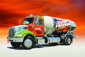 Flynn Propane new bobtail for Pennsylvania Wounded Warriors charity