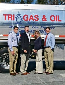 From left, Keith McMahan, Nash McMahan, Julie McMahan and David McMahan of Tri-Gas & Oil Co. Photo courtesy of Tri-Gas & Oil Co.