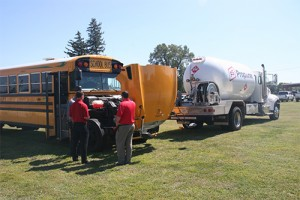 Prairieland FS based in Illinois educates cities, schools on propane autogas benefits