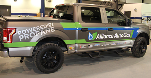 Alliance AutoGas to convert a Ford F-150 for Work Truck Show attendees