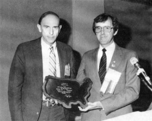 In the mid-1980s, Love was named State Director of the Year, an award presented for his achievement in promoting the national association's marketing program. Photos courtesy of the Love family and the Mississippi Propane Gas Association.