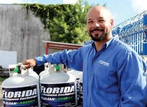 Angel Fernandez Jr. chose propane over a cooking career.