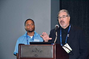 Dennis Vegas, right, PERC's chief marketing officer, was hired last year to help develop a consumer campaign.