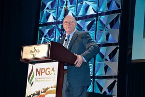 PERC President and CEO Roy Willis introduces the campaign to attendees at April's Propane Expo in Nashville.