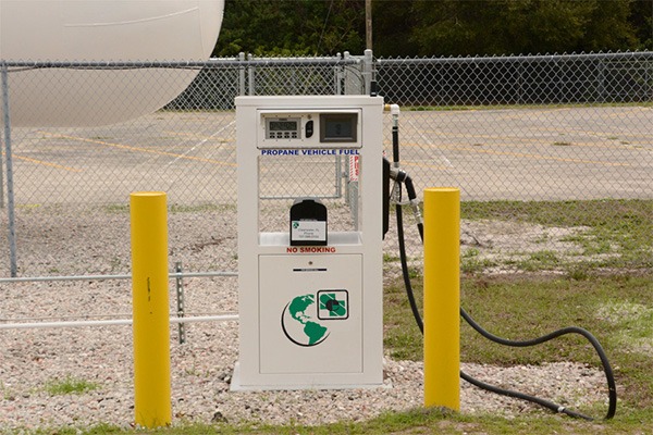 Superior Energy Systems' electronic propane autogas dispensers received Canadian Standards Association (CSA) listings. Photo courtesy of Superior.