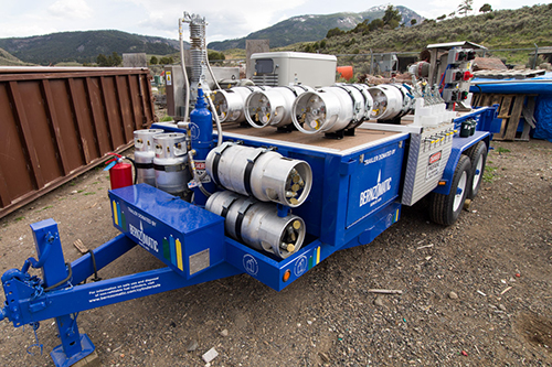 Bernzomatic, a Worthington Industries company, partnered with Yellowstone Park Foundation for a recycling program