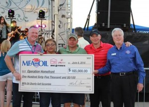 MFA Oil Second annual golf charity event