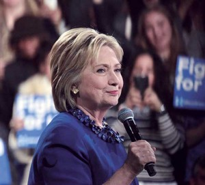 """Hillary Clinton refers to propane as """"high cost"""" and """"polluting"""" in a briefing on her campaign website. Photo: iStock.com/andykatz"""