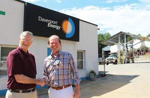 Photo courtesy of Davenport Energy.