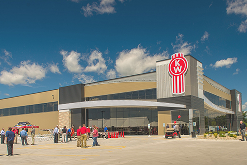 Wisconsin Kenworth opens a new facility in Windsor, Wis. Photo courtesy of Kenworth.