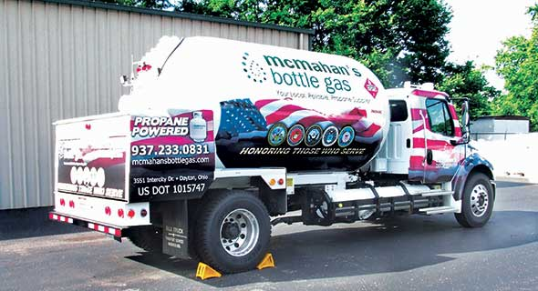 Joe Buschur has owned McMahan's Bottle Gas since he purchased the company in 1979. Photo courtesy of McMahan's Bottle Gas