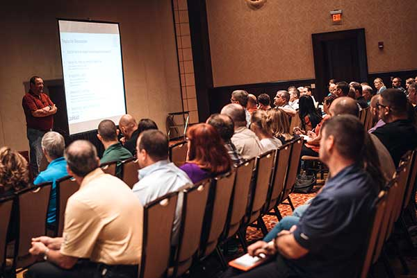 More than 250 people attended Cargas' annual summit. Photo courtesy of Cargas
