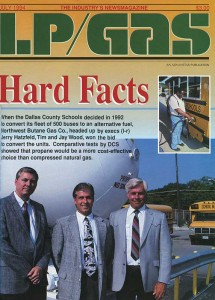 Northwest Propane's partnership with Dallas County Schools was featured in the July 1994 issue of LP Gas.