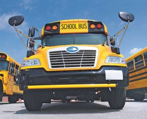 CleanFuel USA, Powertrain Integration, the Texas Railroad Commission and a handful of school districts approached Blue Bird about developing a factory-made propane school bus in 2006. A decade later, Blue Bird is now a key propane industry partner. Photo by Bob Yosay/The Vindicator