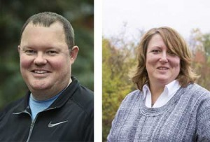 Bobby Mitchell (right) and Lori Murawski (left). Photos courtesy of EDP