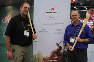 PERC named Mike Holloran and Jeff Sebert as its Propane Leadership Award winners. Photo courtesy of PERC
