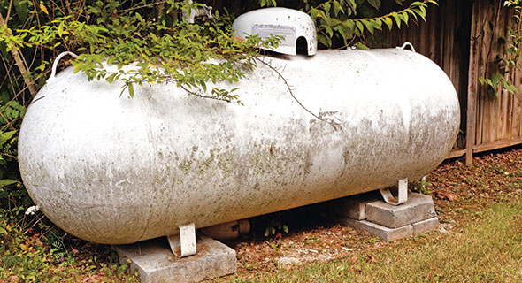 Tank placement code violations tend to occur when marketers deliver to customer-owned tanks. Unless the code violation is obvious, it is often ignored. Photo: iStock.co/Joe_Potato