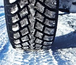winter snow tire. Photo: iStock.com/AGrigorjeva