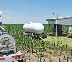 It's time farmers realize the benefits of propane to power their irrigation engines. Photo courtesy of Christopher Bristol of Envision: Creative Solutions