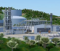 The 21-megawatt propane-fired Wärtsilä power plant project in the U.S. Virgin Islands. Photo courtesy of Wärtsilä.