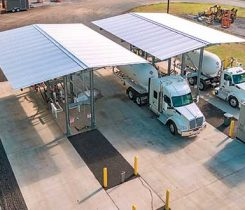 Crestwood's new propane rail terminal in Montgomery, New York, is open and operating. Photo courtesy of Crestwood