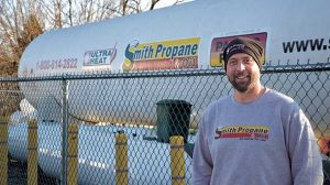 Zac Cromie is general manager-propane at Smith Propane & Oil. Photo by Brian Richesson