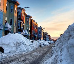 winter street. Photo: iStock.com/DenisTangneyJr