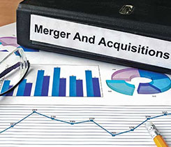 Mergers and acquisitions. Photo: iStock.com/designer491