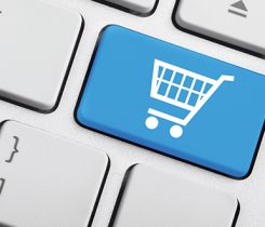 online retailer shopping cart. Photo: iStock.com/artisteer