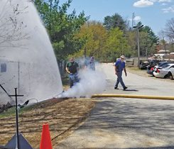 Each year, PGANE conducts a three-day training at state fire academies in Massachusetts and New Hampshire. Photo courtesy of the Propane Gas Association of New England