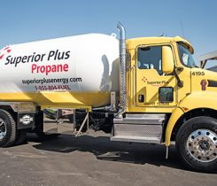 Photo courtesy of Superior Plus Propane.