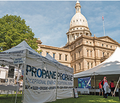 Photo courtesy of Michigan Propane Gas Association.