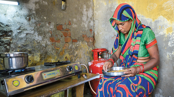 About 2.9 billion people still cook using biomass as fuel. Propane is a way to move away from this practice. Photo Courtesy of the World LPG Association
