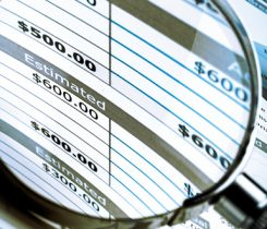 Financial statements. Photo: iStock.com/artisteer