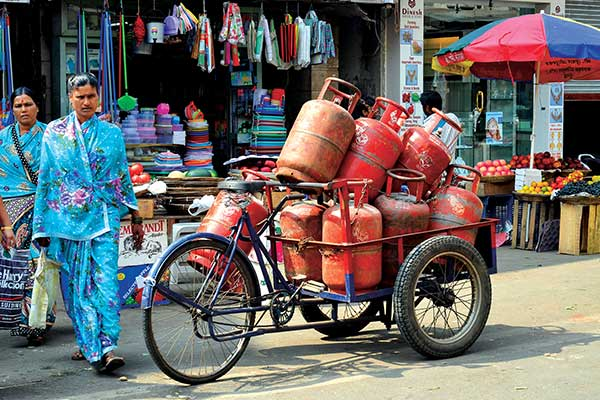 The goal of the campaign is to transition 1 billion people from using traditional fuels to propane by 2030. Photo: iStock.com/PisitBurana