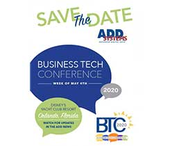 The 2020 Business Tech Conference will take place the week of May 4, 2020, in Orlando, Florida. Photo courtesy of ADD Systems.