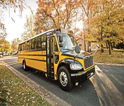 Louisiana's school districts are given the option to replace buses by utilizing the funds to cover 25 percent of the purchase cost of new diesel buses, or 50 percent of the purchase cost for new propane buses. Photo courtesy of PERC