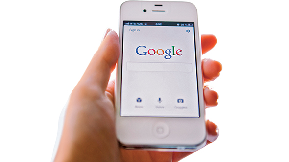 The decision to switch to a Google search function is based mostly on data showing the frequency with which a search engine is used. Photo: iStock.com/Erikona
