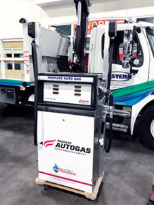 Retailers who supply propane autogas to customers can work with industry partners to provide the needed equipment, such as dispensers for refueling stations. Photo by Joe McCarthy