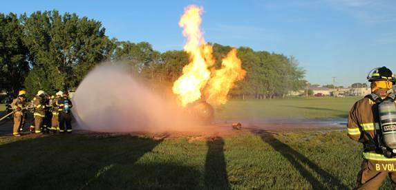 Propane safety training. (Photo: CHS Inc.)