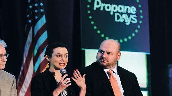 Reboli at the 2018 Propane Days in Washington, D.C. Photo courtesy of the NPGA