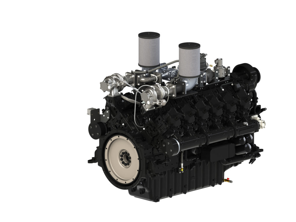 A PSI propane-powered engine, which garnered Environmental Protection Agency certification.